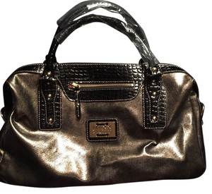Maxx New York Satchel in Bronze
