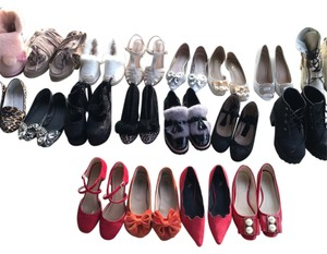 Preown used shoes set Flats