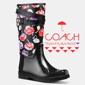 Coach Black/Black Multi Boots