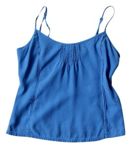 Lucky Brand Silk Top Blue