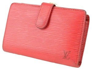 Louis Vuitton louis vuitton RED wallet