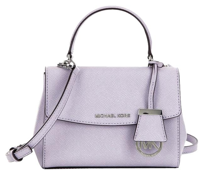 Item - Ava Extra Small Lilac Leather Cross Body Bag