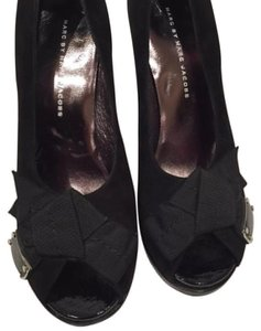 Marc by Marc Jacobs Black Platforms