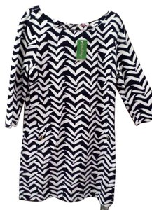 Lilly Pulitzer short dress Navy Blue & White New With Tags on Tradesy