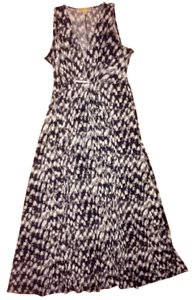 Black White Gray Maxi Dress by Michael Kors Maxi