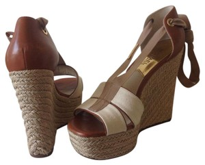 Michael Kors Ecru Wedges