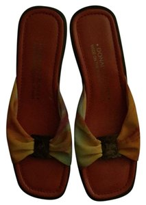 Donald J. Pliner Orange multi Sandals