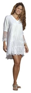 Lirome short dress White Lace Resort Cottage Chic on Tradesy