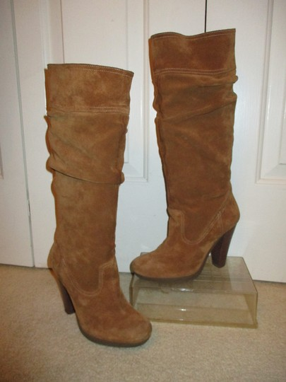 Michael Kors Leather Suede tan Boots