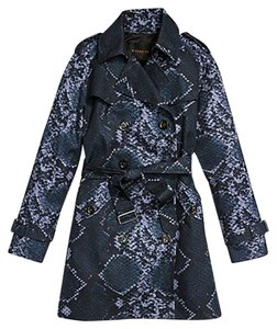 Coach F86436 Trench Python Blocked MIDNIGHT NAVY/NAVY Jacket