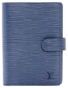 Louis Vuitton Louis Vuitton Epi Leather Agenda in Myrtille Blue