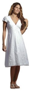 Lirome short dress White Cottage Chic Resort Romantic on Tradesy