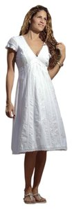 Lirome short dress White Cottage Chic Summer Organic on Tradesy