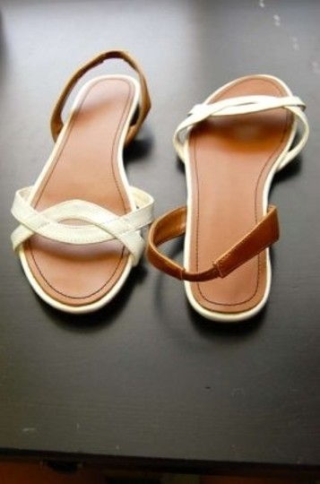 Urban Outfitters Brown And Spring Summer Size 8 White Sandals