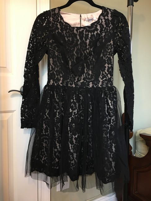 Modcloth short dress Black on Tradesy
