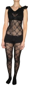 Music Legs Like New Lace Body Stocking