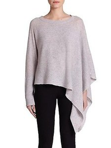 Helmut Lang Core Cashmere Alpaca Soncho Poncho Sweater