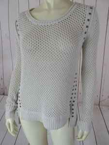 Rock & Republic Cotton Crochet Sweater