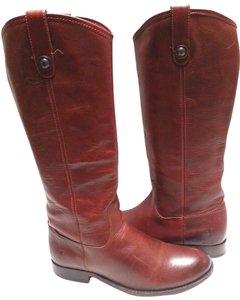 Frye Vintage Leather Knee-high Cognac Boots