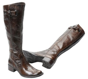 Børn Leather Boot Ginger Burnish Brush Off Boots
