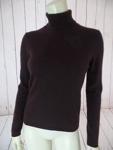 Sutton Studio Petite Cashmere Pm Turtleneck Fine Knit Chic Sweater