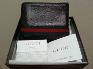 99bb14eec3c5 Gucci Gucci Guccissima Leather Bifold Men's Wallet
