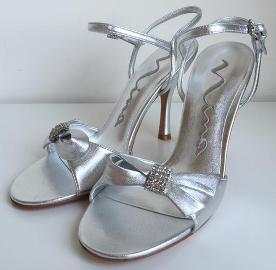 Nina Shoes Evening Shoes/ Bridal Shoes/ Bridemaid Shoes/ Prom/ Cruise/ Silver Formal