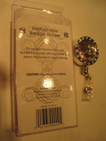 Other ID & Badge Holder; Jeweled & Retractable - [ Roxanne Anjou Closet ]