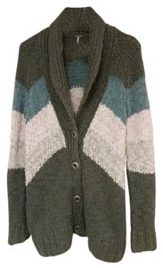 Free People Chevron Cardigan