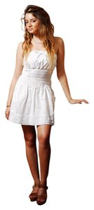 Lirome short dress White Embroidery Summer Resort on Tradesy
