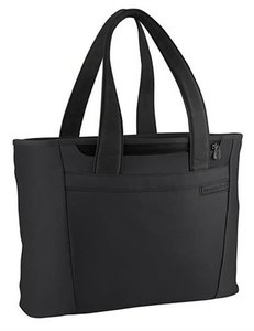 Briggs & Riley Man Tote Carry On Carry Nylon Leather Black Travel Bag