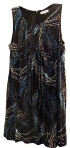 Calvin Klein short dress Multi-color Shift Braided Painterly on Tradesy