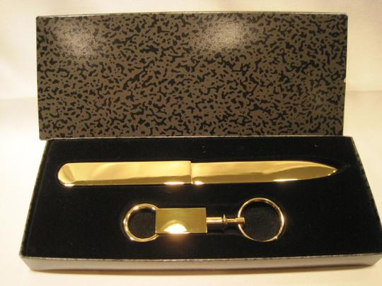 Other Golden Letter Opener and Key Ring - [ Roxanne Anjou Closet ]