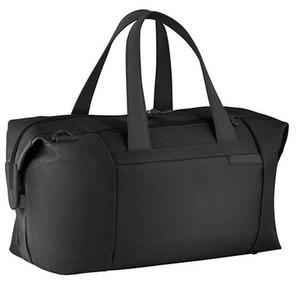 Briggs & Riley Man Duffle Carry On Black Travel Bag