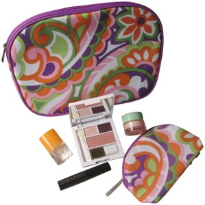 Clinique Brand new Clinique cosmetic bags, makeup, skin care, and Clinique Happy Fragrance!!