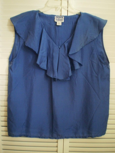 details express Top Royal blue