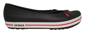 Crocs Slip-ons Mary Jane Nautical Blue and Red Flats