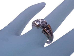 Estate Vintage .50ct Diamond Engagement 14k Yellow Gold Filigree Ring