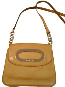 Michael Kors Python Detail Exclusive Tan/Camel Travel Bag