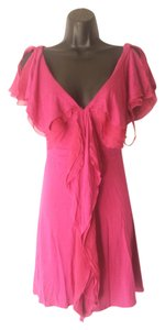 BCBGeneration short dress Pink Stretchy on Tradesy