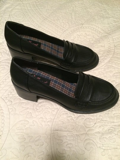 Jellypop Loafer Casual Black Flats