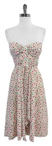 Nanette Lepore short dress Cream Butterfly Print on Tradesy