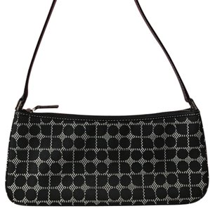 Kate Spade Leather Polka Vintage Baguette