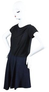 Balenciaga short dress Multi-Color Navy Blue Black on Tradesy