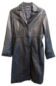 Andrew Marc Leather Coat