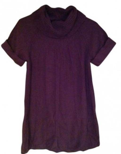 Gap Gap Plum Short Sleeve Tunic Sweater