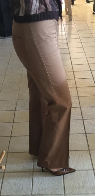 Express Flare Pants Light Brown