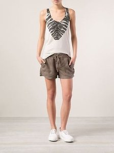 Raquel Allegra Tie Dye Sleeveless Top Multi-Color