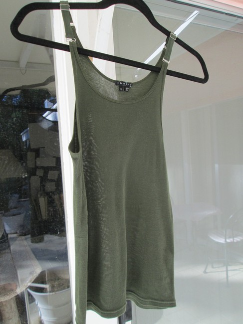 Theory Top Olive green