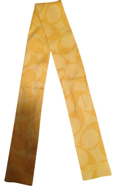 Item - Yellow Scarf Hair Accessory